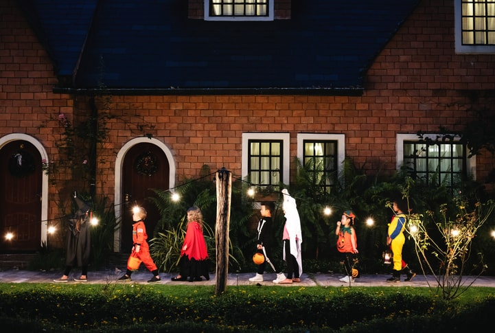 Trick or Treating safety tips this halloween